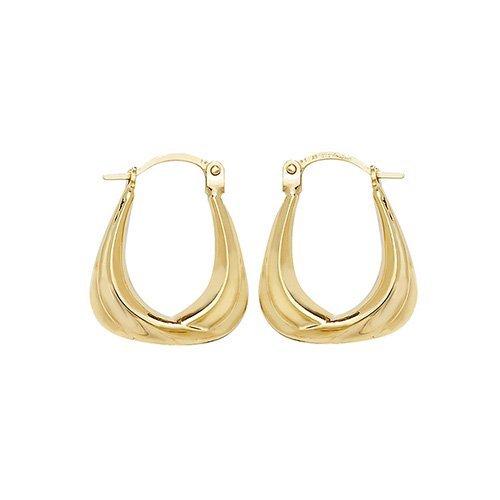 Gold Creole Earrings