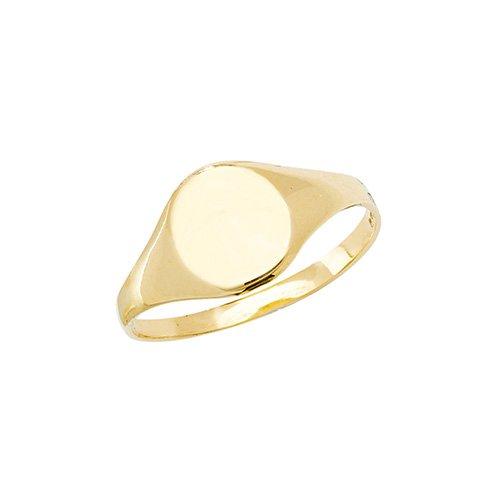 Plain Oval Signet Ring