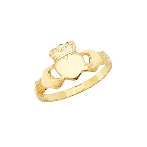 Maidens Claddagh Ring